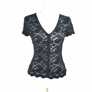 Kimchi Blue Sheer Stretch Lace Top
